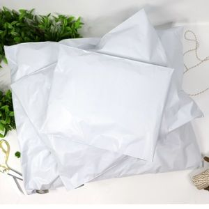 "24""x24"" 50pcs Self Seal White Poly Mailers"